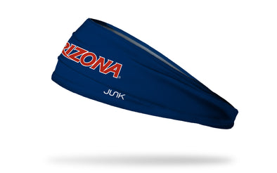 University of Arizona: Wordmark Navy Headband