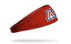 University of Arizona: A Logo Red Headband