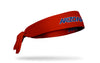 University of Arizona: Wordmark Red Tie Headband