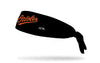 Baltimore Orioles: Birdland Black Tie Headband