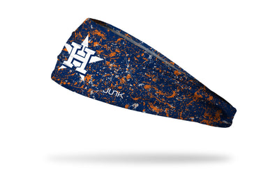 Houston Astros: Splatter Navy Headband