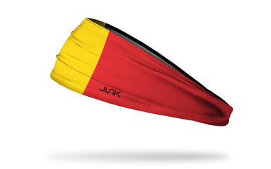 Flag of Belgium Headband - Left Side View