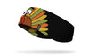 silly turkey ear warmer black left side