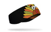 silly turkey ear warmer black right side