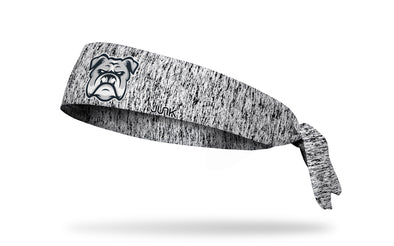 static headband with generic bulldog mascot in full color