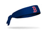 Boston Red Sox: Old English Navy Tie Headband
