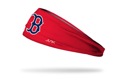 Boston Red Sox: Old English Red Headband