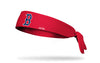 Boston Red Sox: Old English Red Tie Headband