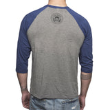 Blue Rebel Baseball Tee