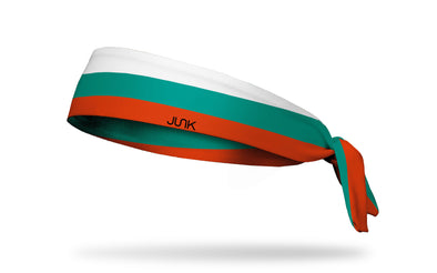 headband with traditional Bulgaria flag design