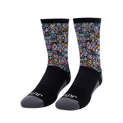 Catouflage Athletic Crew Sock
