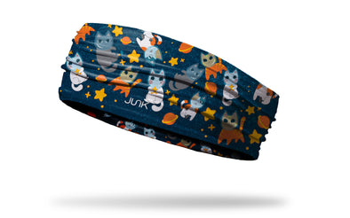 kitty cats in space being astronauts headband