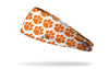 Clemson Tigers: Orange Repeating Headband