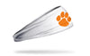 Clemson Tigers: Logo White Headband