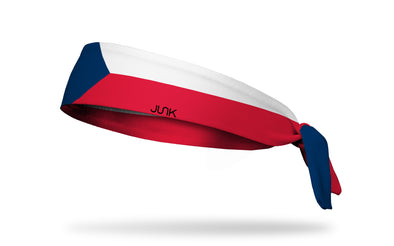Czech Republic Flag Headband
