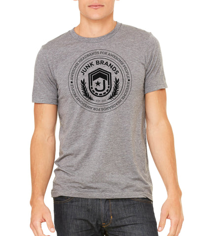 Men's Grey Crest T-Shirt