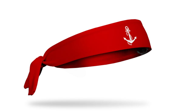 Delta Gamma (DG) Anchor Red Tie Headband