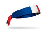 France Flag Tie Headband - Right Side