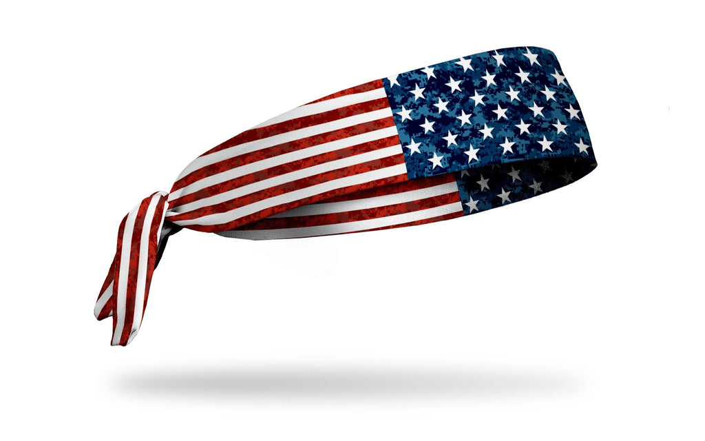 f6214a54dff1 Honor American Flag Flex Tie Headband