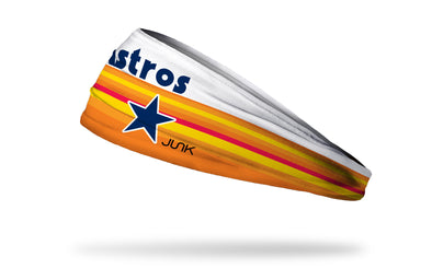 Houston Astros: 5 Stripe Headband