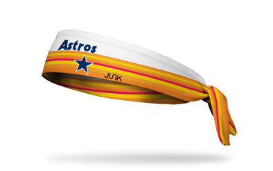 Houston Astros: 5 Stripe Tie Headband