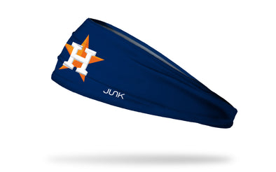 Houston Astros: H Star Navy Headband