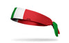Italy Flag Tie Headband - Left Side