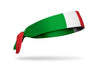 Italy Flag Tie Headband - Right Side