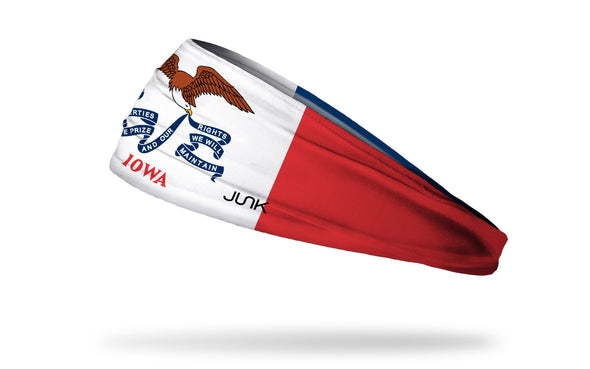 Iowa Flag Headband