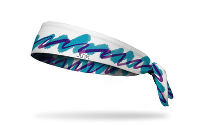 90's themed classic solo cup jazz white purple blue headband