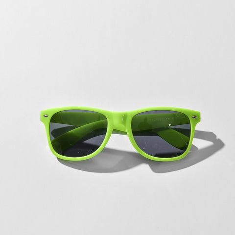 Neon Green JUNK Sunglasses