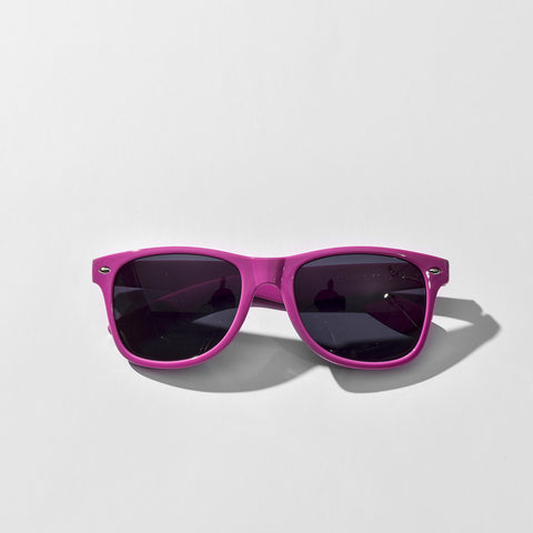 Neon Purple JUNK Sunglasses