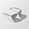 White Reflective JUNK Sunglasses