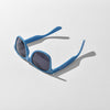 Blue JUNK Sunglasses