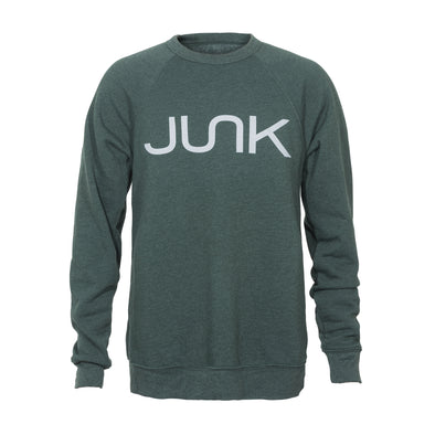 JUNK Dark Green Crew Sweatshirt