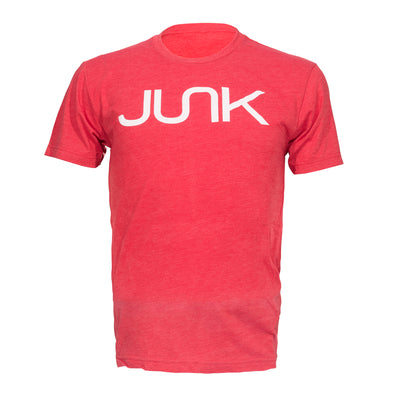 JUNK Tri-Blend Red Tee