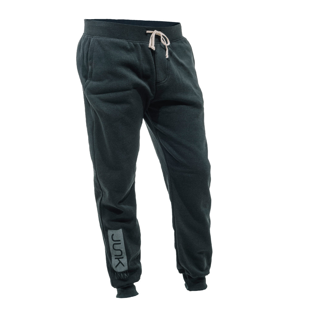 Men's Black Reflective Joggers