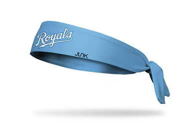 Kansas City Royals: Home Light Blue Tie Headband