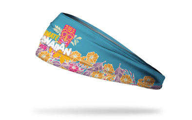Hawaiian Trail Run Floral Headband