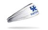 University of Kentucky: Wordmark White Headband