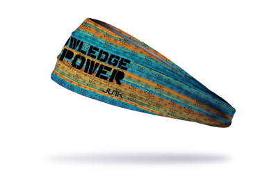 Knowledge is Power Headband