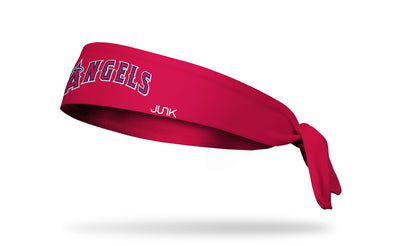 Los Angeles Angels: Home Red Tie Headband