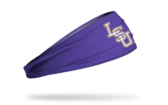 Louisiana State University: LSU Baseball Purple Headband