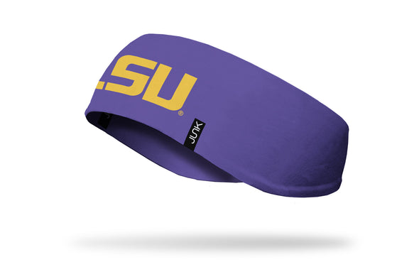 Louisiana State University: Logo Purple Ear Warmer