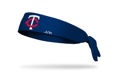 Minnesota Twins: Twin Cities Navy Tie Headband