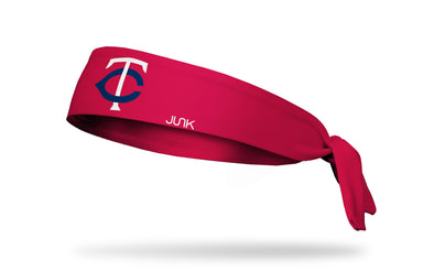 Minnesota Twins: Twin Cities Red Tie Headband