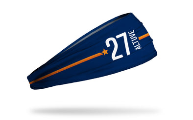 Jose Altuve 27 Headband