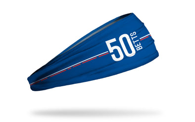 MLB Players Association Headband Mookie Betts 50