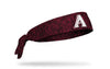static headband with Arizona Diamondbacks logo in white
