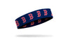 Boston Red Sox: Old English Navy Headband